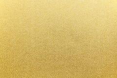 Японская предпосылка текстуры бумаги золота Стоковая Фотография RF
