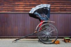Японская рикша стоковая фотография