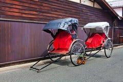 Японская рикша стоковые изображения rf