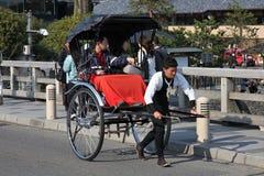 Японская рикша стоковое фото
