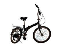 Японская складчатость bg изолированный велосипедом белый стоковые фотографии rf