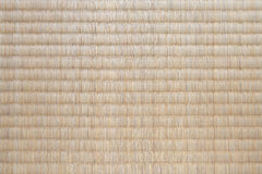 Японская текстура циновки tatami Стоковое Изображение