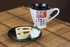 Японская традиция чая стоковые изображения rf