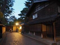 Японская улица к ноча стоковое фото rf