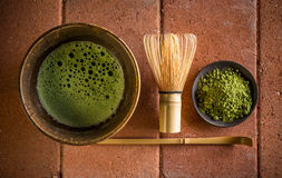 Японская церемония чая Стоковые Фотографии RF