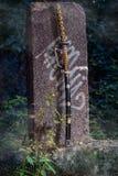 японская шпага самураев Стоковое Изображение