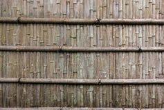 Японская bamboo загородка Стоковое Изображение
