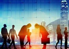 Японские бизнесмены концепции уважения культуры корпоративной Стоковая Фотография