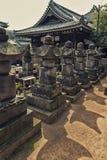 Японские детали кладбища Стоковое Изображение RF