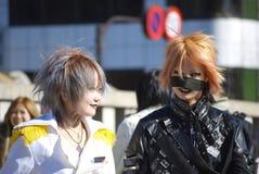 Японские девушки в Harajuku Стоковые Фотографии RF