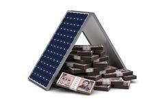 Японские иены энергосберегающие Стоковая Фотография