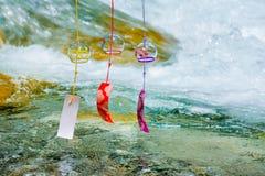 Японские перезвоны ветра стоковые фото