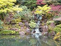 Японские сады Портленд Орегон Стоковые Фотографии RF