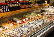 Японские суши супермаркета Стоковая Фотография