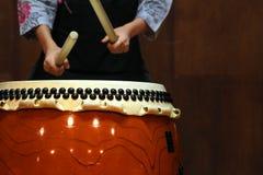 Японский барабанчик стоковая фотография