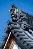 японский висок крыши Стоковые Фотографии RF