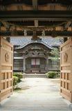 японский висок стоковое изображение