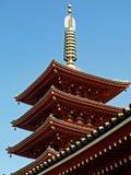 японский висок Стоковые Изображения