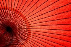 японский востоковедный зонтик Стоковая Фотография