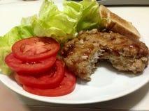 Японский гамбургер Стоковая Фотография