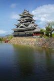 Японский замок Стоковое фото RF