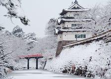 Японский замок Стоковые Изображения