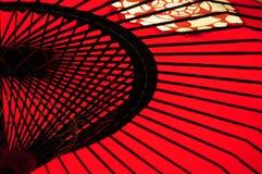 японский зонтик Стоковое фото RF