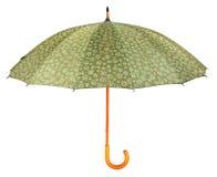 Японский изолированный зонтик Стоковые Изображения