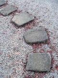 японский каменный путь Стоковые Фотографии RF