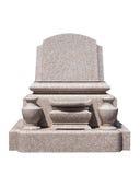 Японский камень усыпальницы стоковое фото rf