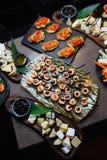 Японский комплект еды Стоковое Фото