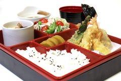 Японский комплект обеда Bento Стоковое фото RF