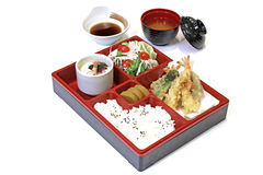 Японский комплект обеда Bento Стоковое Изображение RF