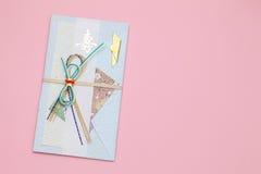 Японский конверт для подарка денег Стоковая Фотография