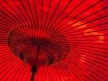 японский красный зонтик типа Стоковые Изображения RF
