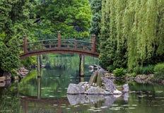 Японский красный мост - bashi taiko Стоковые Фото