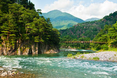 японский ландшафт Стоковое Изображение