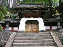 японский мавзолей Стоковое Фото