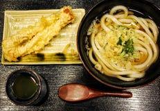 Японский набор Udon стоковое изображение