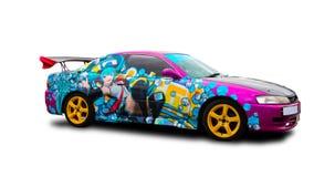 Японский настраивать автомобиля спорт Стоковая Фотография RF