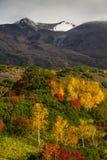 Японский национальный парк Daisetsuzan Стоковые Фотографии RF