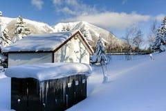 Японский дом Стоковая Фотография