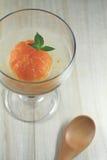 Японский оранжевый компот Стоковые Изображения
