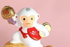 Японский орнамент обезьяны Стоковое Изображение