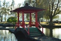 Японский парк в Гаваи Стоковое Фото