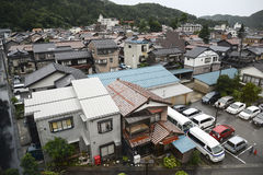 японский пригород стоковая фотография rf