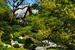 Японский путь сада Дзэн Стоковые Фото