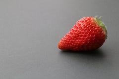 Японский плодоовощ клубники на черноте Стоковое Изображение RF