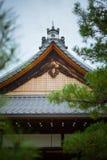 Японский раздел крыши дома Стоковая Фотография