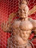 Японский ратник сделанный из древесины стоковое фото